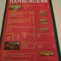 Photo taken at Ruben's Hamburgers by Gibran A. on 3/27/2013