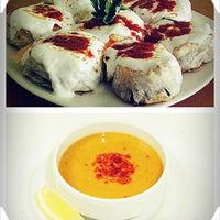 Photo taken at Nezih Cafe Bistro by Cidem c. on 2/14/2014