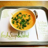 2/15/2013にwolfgang p.がFresh Soup & Saladで撮った写真