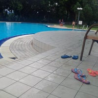 Photo taken at Oakleaf Park Swimming Pool by Inu Z. on 11/28/2015