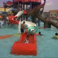 Photo taken at Sun City Waterpark, Madiun by Deny C. on 2/9/2014