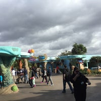 Photo taken at SeaWorld Annual Passport Member Entrance by Hua W. on 12/18/2014