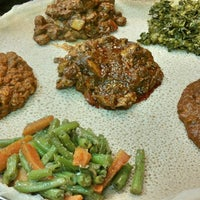 Foto scattata a Lalibela Ethiopian Restaurant da Austine N. il 5/24/2015