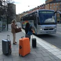 Photo taken at Flygbussarna S:t Eriksplan (B) by Artid J. on 4/20/2016