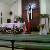 Photo taken at Iglesia San José by Nallely P. on 4/4/2013