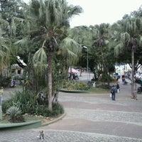 Photo taken at Praça João Pinheiro by Adal V. on 5/7/2013