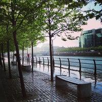 Photo taken at The River Liffey by Masha🦀 on 5/13/2013