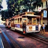 Photo taken at Powell Street Cable Car Turnaround by Dave J. on 9/28/2013