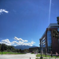 Photo taken at Spencer Fox Eccles Business Building by ODPhi U on 8/28/2013