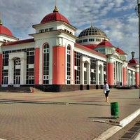 Photo taken at Ж/д вокзал Саранск by Nadezhda S. on 5/22/2013