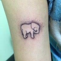 Photo taken at Shanka Tattoo by Sasha A. on 6/30/2013