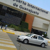 Photo taken at Aeropuerto Internacional de Guanajuato (BJX) by Vicente G. on 6/9/2013