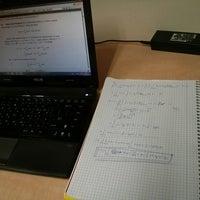 Photo taken at צריף המחקר המתמטי by Yoni R. on 10/27/2013