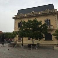 Photo taken at Plaça de l'Estació de Sant Cugat by Daniel L. on 7/20/2016