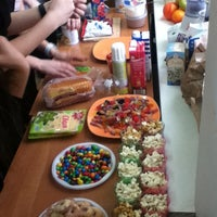 Photo taken at Школа №422 by Алина М. on 3/20/2013