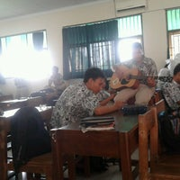 Photo taken at XI IPA 3 SMA N 1 tegal by Putri N. on 5/11/2013