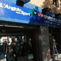 Photo taken at The Gigastore by L'Angolo dello Sport by Massimiliano P. on 11/21/2013