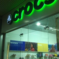 Photo taken at Crocs by Alexey N. on 5/9/2013