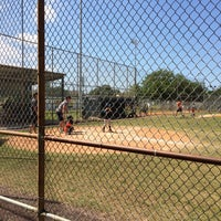 Photo taken at Palma Ceia Little League by Daniel S. on 4/26/2014