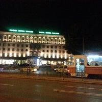 Photo taken at Sofia Hotel Balkan by Avi B. on 6/9/2013
