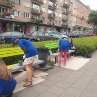 Photo taken at Vokiečių gatvė by Gabrielė Š. on 7/25/2013