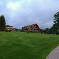 Photo taken at Crowne Plaza Resort Lake Placid-Golf Club by Nevena N. on 6/26/2013