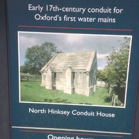 Photo taken at North Hinksey Conduit House by Adam E. on 1/29/2013