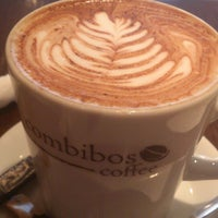 Photo taken at Combibos Coffee by Adam E. on 3/4/2013
