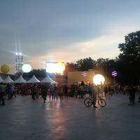 Photo taken at Red Bull X Fighters by Юлия А. on 8/11/2013