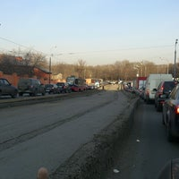 Photo taken at Богатырский мост by Andrey I. on 4/19/2013
