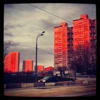 Photo taken at Богатырский мост by Andrey I. on 4/24/2013