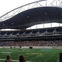 Photo taken at Investors Group Field by Ekat E. on 5/26/2013