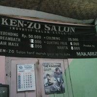 Photo taken at ken-zo salon by Phaidjo M. on 4/1/2013