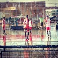 Photo taken at Ginásio Poliesportivo Eduardo Milanez by Lays R. on 10/22/2014