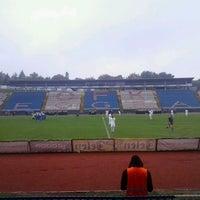 Photo taken at Omladinski stadion   OFK Beograd by Bojan B. on 9/29/2013