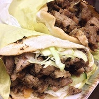 Photo taken at Magboul Shawarma by Nica on 1/7/2015