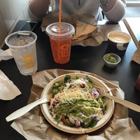 Photo taken at QDOBA Mexican Eats by Greg B. on 8/12/2017