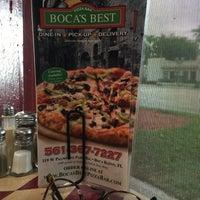 Photo taken at Boca's Best Pizza Bar by Greg B. on 1/18/2016