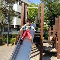 Photo taken at 荒川二丁目公園 by 湘南の中心で愛をさけぶ on 4/27/2013