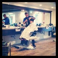 Photo taken at Kings Corner Barbershop by Michael T. on 4/26/2014