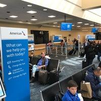 Photo taken at Gate 45 by Jim N. on 4/10/2017