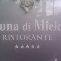 """Photo taken at Ristorante """"Luna di Miele"""" by Roberto M. on 4/13/2013"""