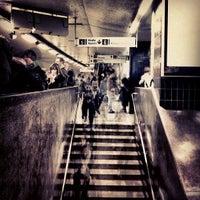 Photo taken at T-Centralen T-bana by trumper . on 2/19/2013