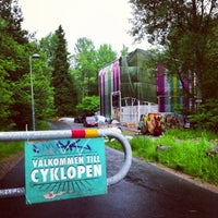 Photo taken at Cyklopen by 𝚝𝚛𝚞𝚖𝚙𝚎𝚛 . on 6/13/2013