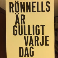 Photo taken at Rönnells antikvariat by trumper . on 9/18/2015