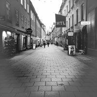 Photo taken at Gamla Brogatan by trumper . on 12/15/2015