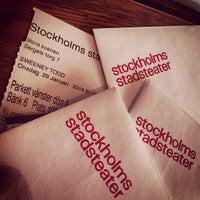 Photo taken at Stockholms Stadsteater by trumper . on 4/10/2013