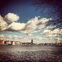 Photo taken at Riddarfjärden by 𝚝𝚛𝚞𝚖𝚙𝚎𝚛 . on 4/20/2013