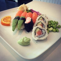 Photo taken at Sushi Yama by trumper . on 4/30/2015