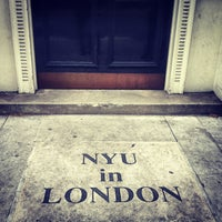 Photo taken at NYU in London Student Centre by Reza A. on 5/18/2013